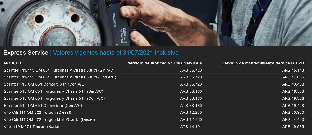 Mercedes-Benz Express Service