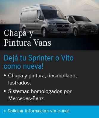 Postventa Promo Chapa y Pintura Vans