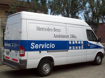 Mercedes-Benz Assistance 24 hs