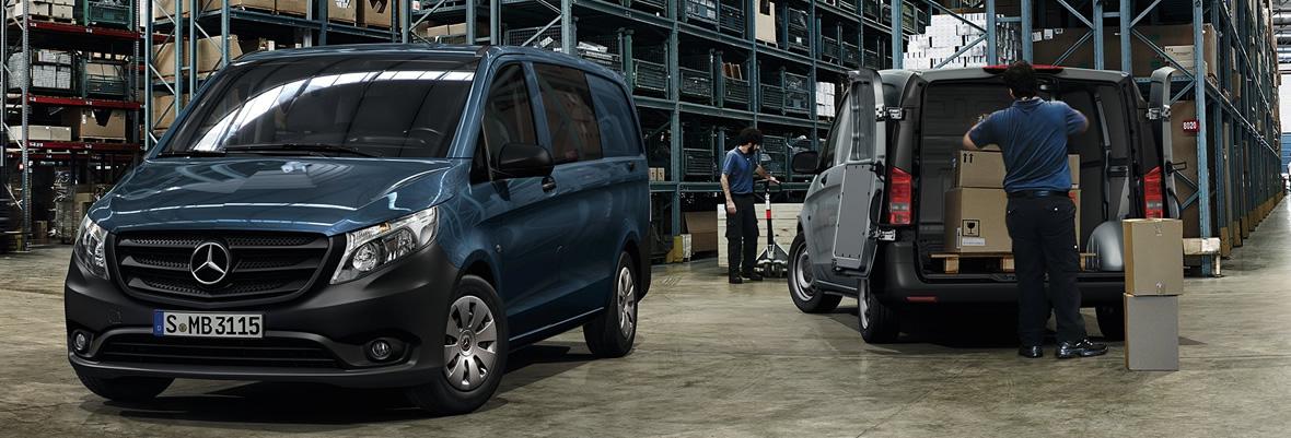 Mercedes-Benz Vito Furgón Mixto